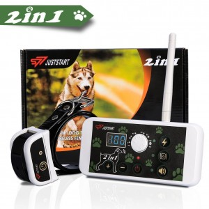 Invisible Dog Fence and Dog Training System 2 in 1 Kit YOUTHINK Pet Containment System with Dog Training Collar