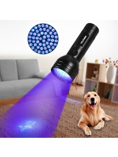 Pet Urine Detector, 51 LED UV Black Light Flashlight