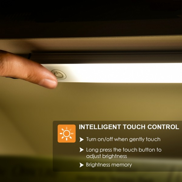 Lighting Ideas For Your Closet Lighting Ideas For You: LED Under Cabinet Lighting Touch Control, Dimmable Under